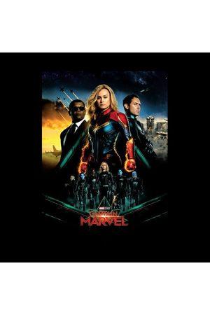 Marvel Captain Movie Starforce Poster Women's T-Shirt