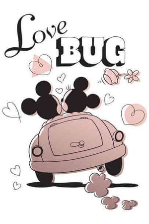 Disney Mickey Mouse Love Bug T-Shirt