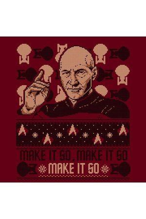 Star Trek : The Next Generation Make It So Christams Women's Christmas T-Shirt