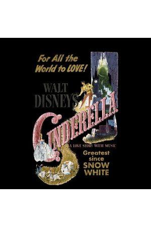 Disney Princess Cinderella Retro Poster Women's T-Shirt