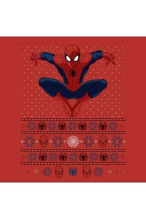 Marvel Avengers Spider-Man Men's Christmas T-Shirt