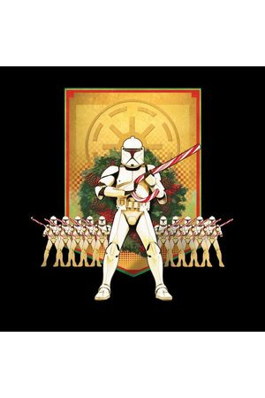 STAR WARS Candy Cane Stormtroopers Women's Christmas T-Shirt