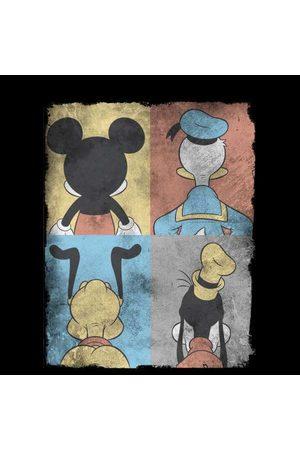 Disney Mickey Mouse Donald Duck Mickey Mouse Pluto Goofy Tiles Sweatshirt