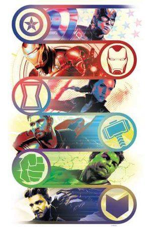 Marvel Avengers Endgame Original Heroes Men's T-Shirt