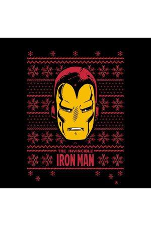 Marvel Iron Man Face Women's Christmas Sweatshirt