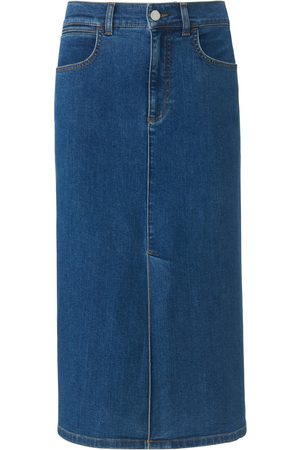 portray berlin Denim skirt in 5-pocket style denim size: 10