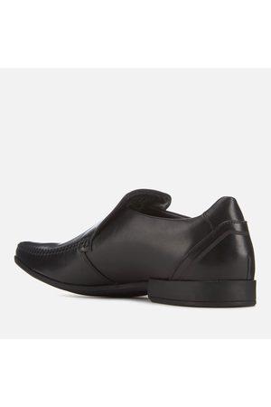 Clarks Men's Glement Seam Leather Slip-On Shoes