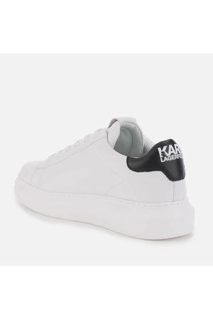 Karl Lagerfeld Men's Kapri Karl Ikonic 3D Lace Leather Trainers