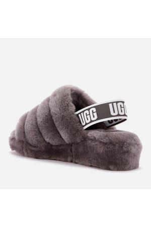 UGG Women's Fluff Yeah Slide Sheepskin Slippers
