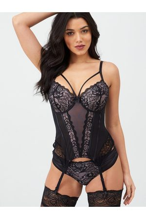Pour Moi Confession Padded Underwired Basque - /