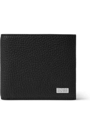 HUGO BOSS Full-Grain Leather Billfold Wallet