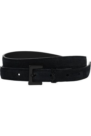 Saint Laurent Ysl Leather Belt