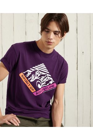 Superdry Mountain Relaxed Fit Graphic T-Shirt