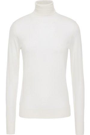 N.PEAL Women Turtlenecks - Woman Cashmere Turtleneck Sweater Ivory Size XS