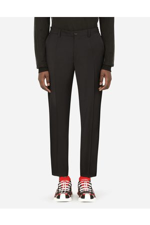 Dolce & Gabbana Men Trousers - Collection - STRETCH WOOL PANTS male 44