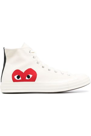COMME DES GARÇONS PLAY X CONVERSE X Converse Chuck Taylor high-top 70s sneakers
