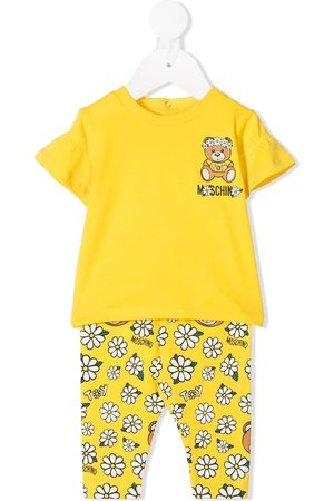 Moschino Floral Teddy Bear print tracksuit set