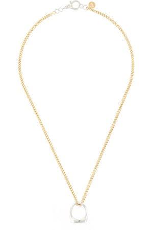 ANNELISE MICHELSON Signet Dechainée chain necklace