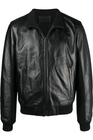Prada High neck panelled jacket