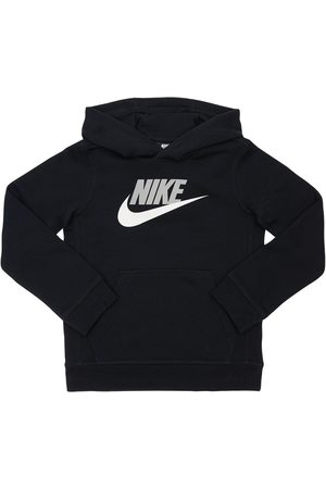 Nike Girls Sweatshirts - Cotton Blend Sweatshirt Hoodie