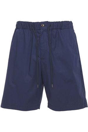 Pantaloni Torino Stretch Cotton Poplin Bermuda Shorts