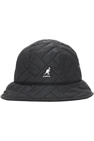 Kangol Waterproof Quilted Logo Bucket Hat