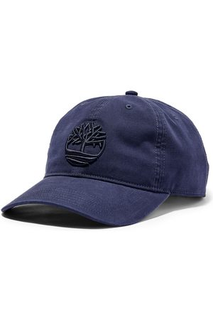 Timberland Men Hats - Soundview cotton canvas cap for men in navy navy, size one