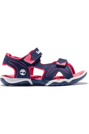 Timberland Adventure seeker sandal for youth in navy/pink navy/pink kids, size 1.5