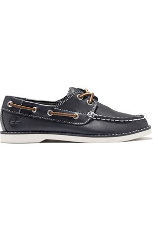 Timberland Seabury boat shoe for toddler in navy kids, size 5