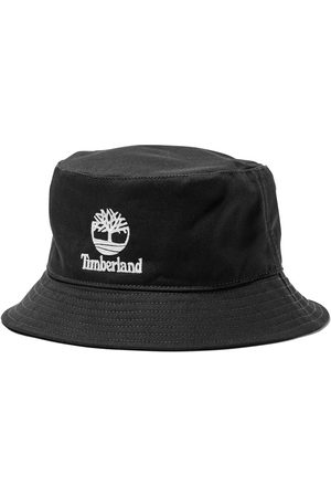 Timberland Embroidered logo bucket hat in men, size lxl