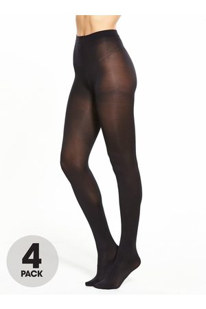 Pretty Polly 4 Pack 60 Denier Opaque Tights