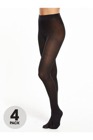 Pretty Polly 4 Pack 40 Denier Opaque Tights