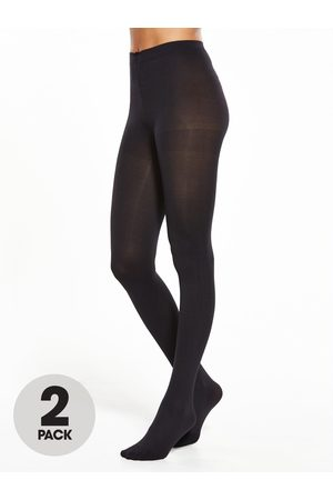 Pretty Polly 2 Pack 80 Denier Opaque Tights