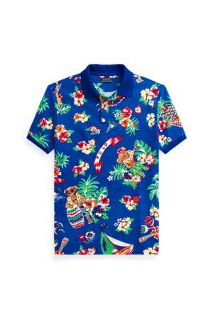 Polo Ralph Lauren Men Polo Shirts - Custom Slim Fit Polo Bear Polo Shirt