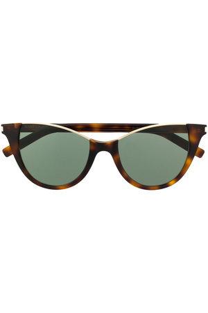 Saint Laurent Rimless top cat eye-frame sunglasses