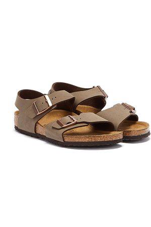 Birkenstock Sandals - New York Birko-Flor Kids Mocha Sandals