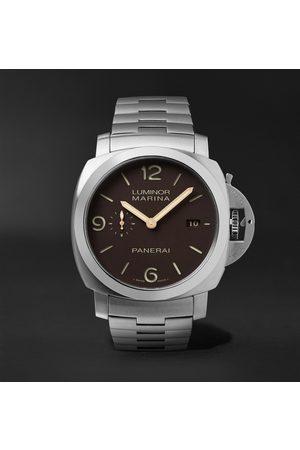 PANERAI Men Watches - Luminor 1950 Marina 44mm Automatic Titanium Watch, Ref. No. PAM00352