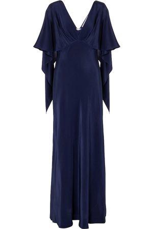 Diane von Furstenberg Alberta silk satin gown