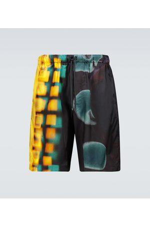 DRIES VAN NOTEN Printed swim shorts