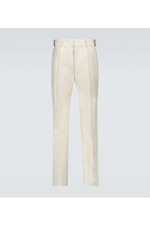 LEMAIRE Linen and cotton-blend pants