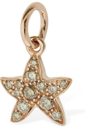 Dodo 9kt Stella Marina Charm W/ Diamond