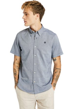 Timberland Gale river oxford shirt for men in navy navy, size 3xl