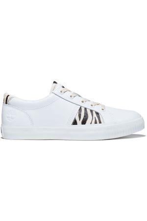 Timberland Skyla bay animalier sneaker for women with zebra print, size 3.5
