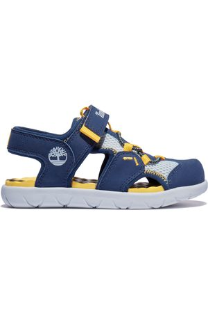 Timberland Perkins row fisherman sandal for youth in navy navy kids, size 1