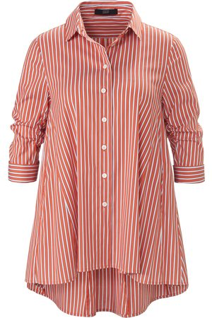 Steffen Schraut Women Blouses - Striped blouse gathered 3/4-­length sleeves size: 10