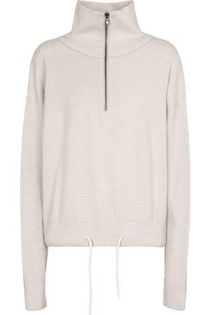 Varley Buckingham cotton knit sweatshirt