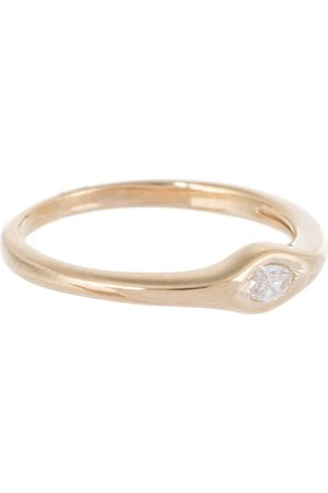 JACQUIE AICHE Single Marquise 14kt and diamond ring