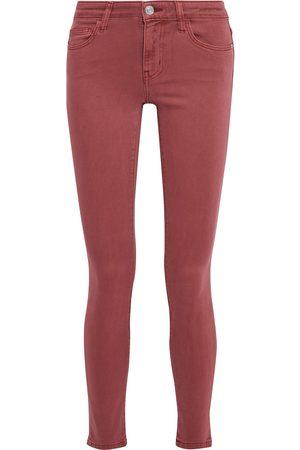 Current/Elliott Women Skinny - Woman Stiletto Mid-rise Skinny Jeans Brick Size 23