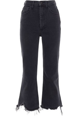 3x1 Women Bootcut - Woman Empire Distressed High-rise Kick-flare Jeans Size 29