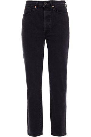 3x1 Women Slim - Woman Claudia High-rise Slim-leg Jeans Size 26